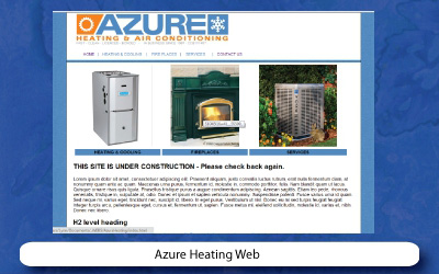 Slide-AzureHeatingWebsite